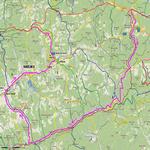 Mapa trasy květen 09
