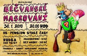 Plakát - Bečvanské maskování 2010