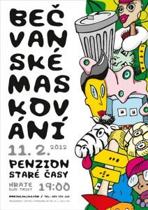 Plakat Maskovani 2012