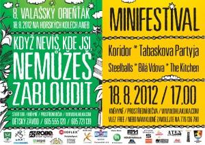 8. Valašský orieňťák & minifestival - plakátos